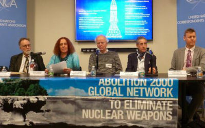Activists lock onto nuclear weapons spending