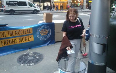 Nuke money counted outside NY office of nuclear weapons contractor
